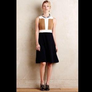 Anthropologie Maeve Colorblock Sweater Dress